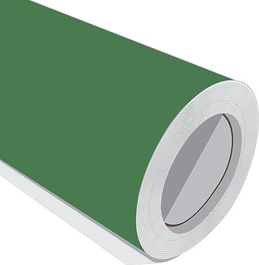 5 m (5 m) rollo de HD Racing verde mate 610 mm de ancho Vinilo ...