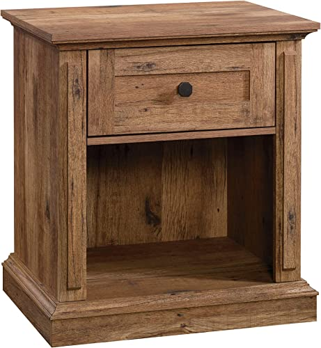 Sauder New Grange Night Stand, L 26.14 x W 19.45 x H 28.15 , Vintage Oak