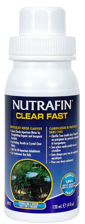 Nutrafin Tratamiento Clear Fast para Acuario 120 ml: Amazon.es: Productos para mascotas