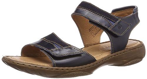 d822ea8f Josef Seibel Women's Debra 19 Sling Back Sandals, Blue (Denim/Kombi 596)