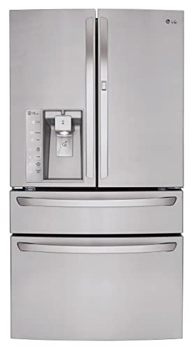 LG LMXS30776S30 0 Cu  Ft  Stainless Steel French Door Refrigerator - Energy  Star