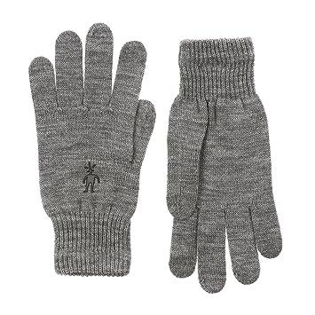 0f54237a6e5940 Merino Handschuh Liner Glove Damen S silver gry htr: Amazon.de ...