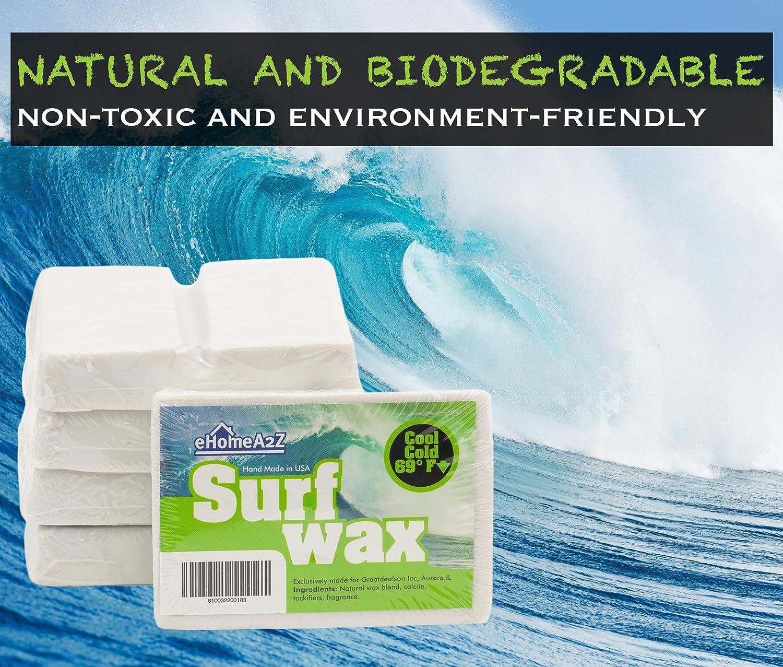 Banana Wax Cool Water Surf Wax Ultra Sticky Single Pack Surfboard
