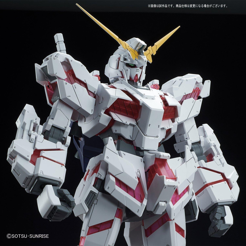 Bandai Hobby Mega Size 1/48 Unicorn Gundam [Destroy Mode] Gundam UC Model Kit Figure by Bandai Hobby (Image #6)