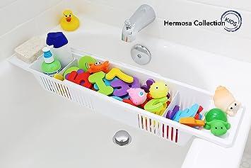 Superb Hermosa Collection Kids Bath Toy Organizer And Bathtub Storage Basket