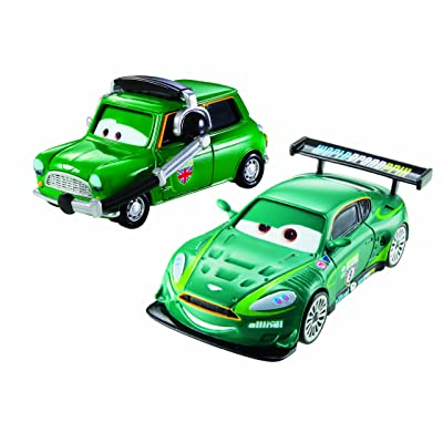 Disney Pixar Cars Nigel Gearsley and Austin Littleton Diecast Vehicle, 2-Pack: Toys & Games