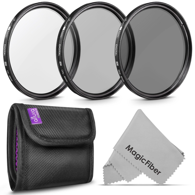 filtros de fotografía profesional de 67MM,UV, polarizador...