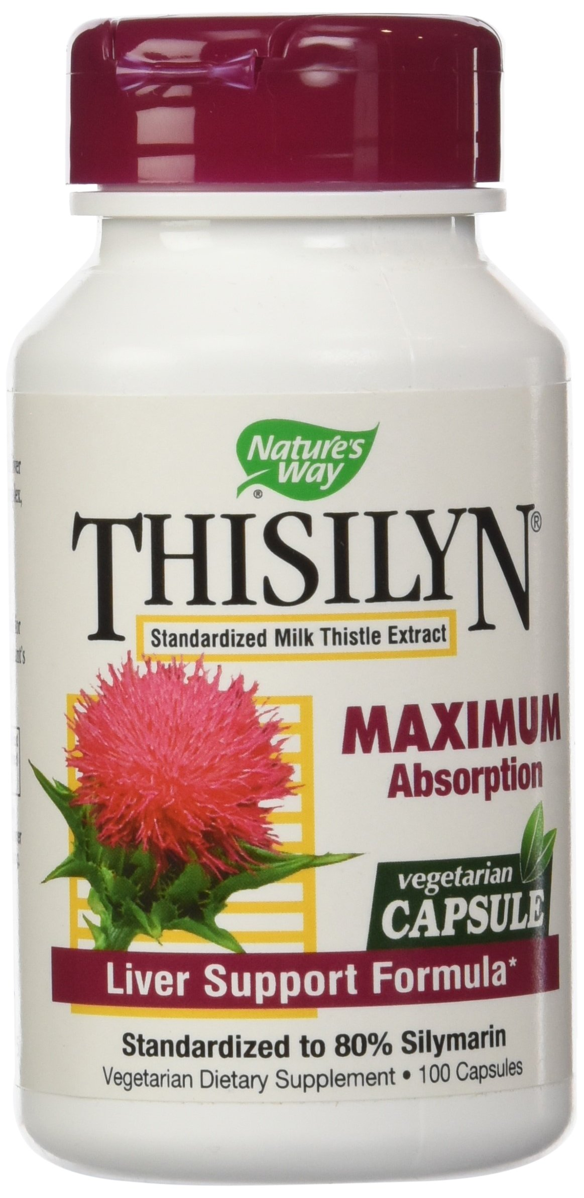 Nature's Way Thisilyn Milk Thistle 100 Vcaps, 2 Count