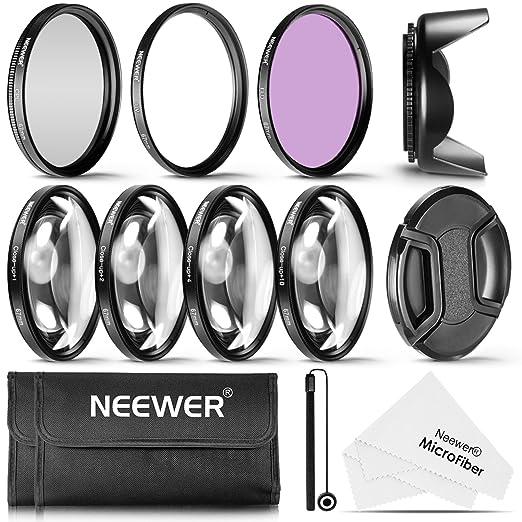 7 opinioni per Neewer 67mm Professionale Kit di Filtri UV/CPL/FLD & Close-up (+1, +2, +4, +10)