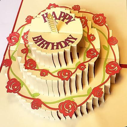 HapiPop Collections - Tarjetas de cumpleaños para tartas ...