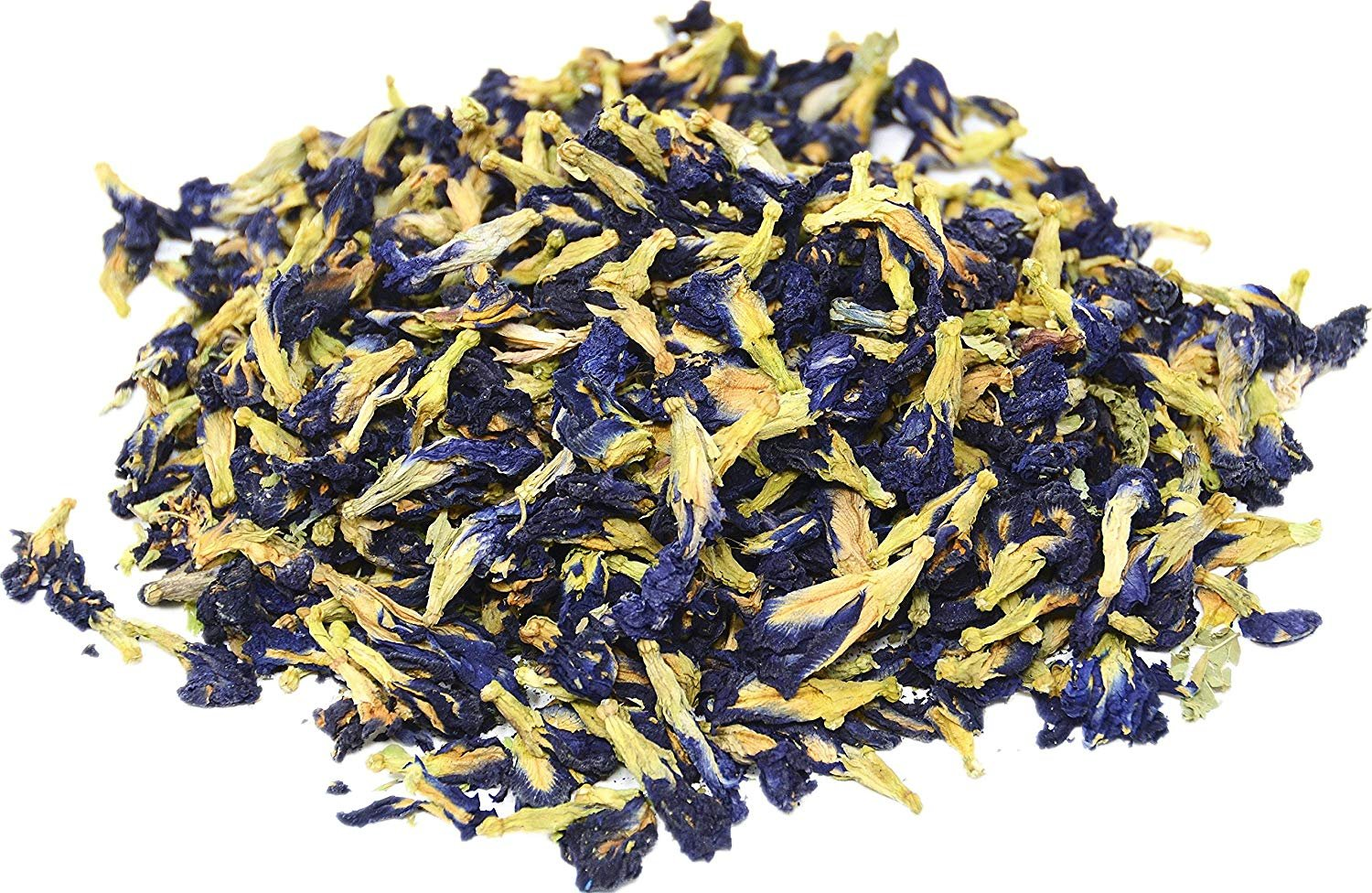 Three Squirrels 100% Natural Dried Pure Whole Butterfly Pea Flower Tea, Perfect Blue Purple Coloring for Food and Beverage, 100g by BGBULBS (Image #1)