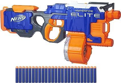 Amazon Com Nerf N Strike Hyper Fire Blaster Amazon Exclusive Toys Games