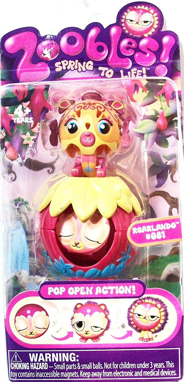 Single Zoobles Pack Azoozia Collection ROARLANDO #081 Spin Master 20032777