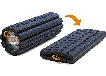 Brazyn Faltbares und tragbares Muskel-R/ückenmassageger/ät f/ür die Myofascial Release Massage Morph Bravo Foam Roller