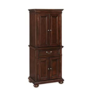 Home Styles 5528-65 Colonial Classic Dark Cherry Pantry Cabinet