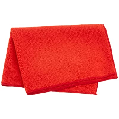 Heininger 5418 GarageMate Combo Color Microfiber Towel, (Pack of 40): Automotive