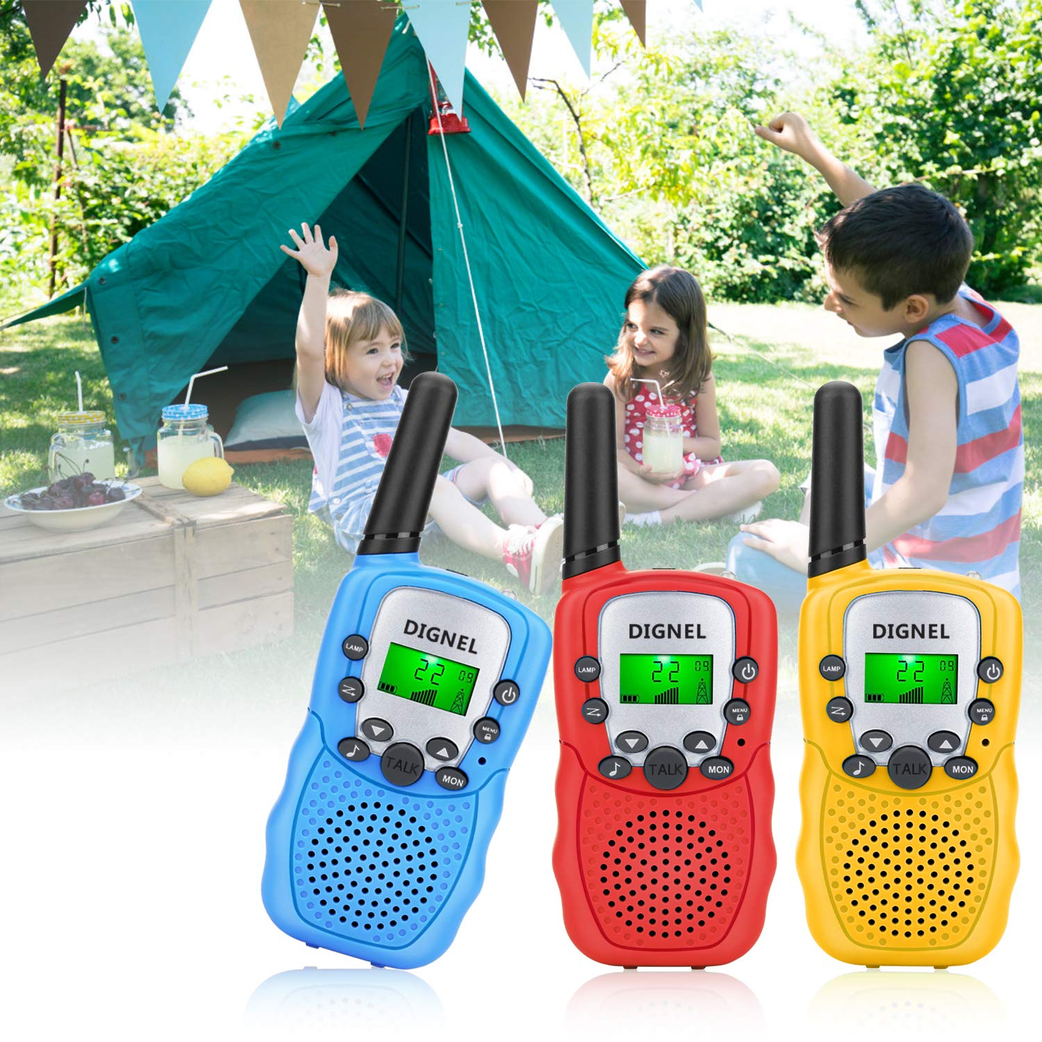 Walkie Talkies, Dignel Walkie Talkies for Kids