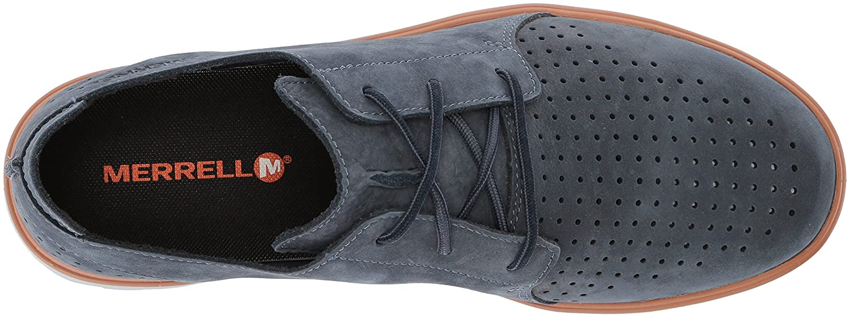 f25b6c5622094 Amazon.com | Merrell Men's Downtown Lace Sneaker, Slate, 7 Medium US | Shoes