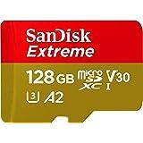 SanDisk 128GB Extreme MicroSDXC UHS-I Memory...