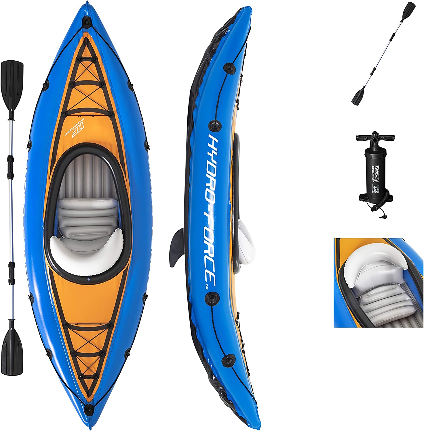 best inflatable kayak 1 person