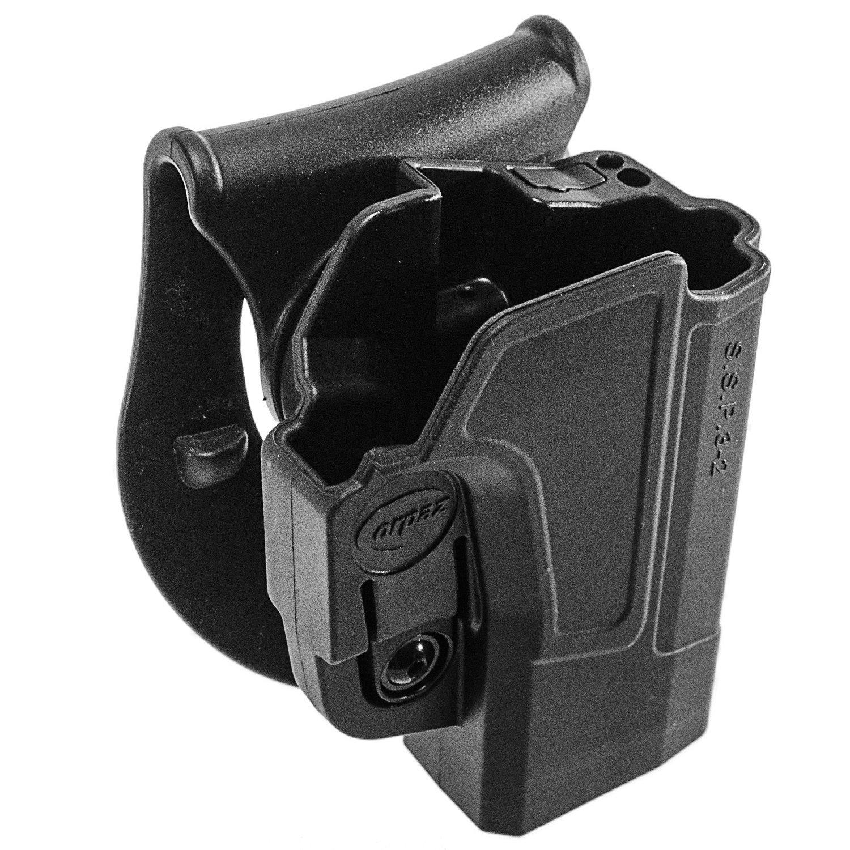 ORPAZ Defense Tiefziehholster verstellbar drehbar drehung Paddle Pistole Holster Active Retention Molle adapter attachment f/ür Sig Sauer p320// P250 Full Size und Compact