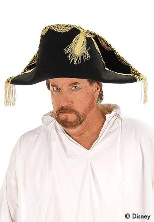073683f9690f9 Amazon.com  elope Disney Pirates Captain Barbossa Hat  Clothing