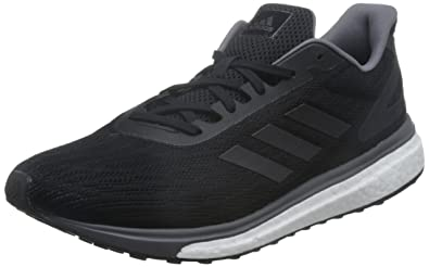purchase cheap 79f50 f2c2c adidas Men s Response Lt Competition Running Shoes, (Core Black Night  Metallic Grey