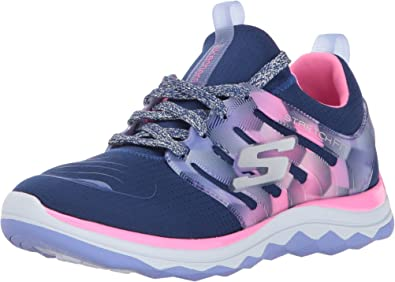Skechers Diamond Runner, Zapatillas de Running para Niñas, Azul (Navy/Hot Pink), 32 EU: Amazon.es: Zapatos y complementos