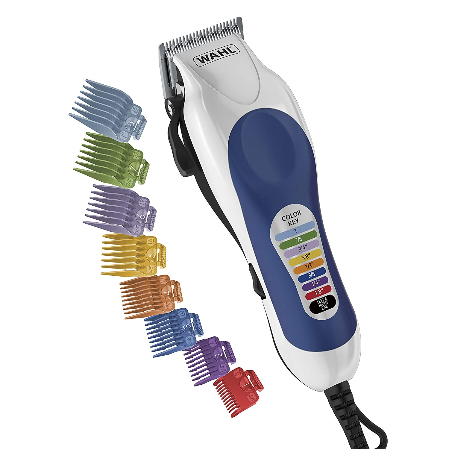 Wahl Color Pro Complete Hair Cutting Kit, #79300-400T : Hair Clipper Kits And Sets : Beauty