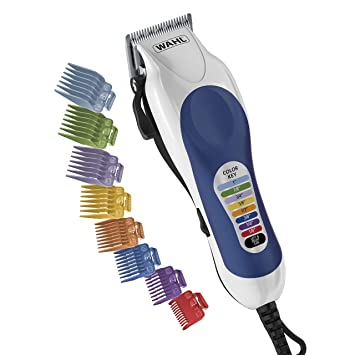 Amazon Com Wahl Color Pro Complete Hair Cutting Kit 79300 400t Hair Clipper Kits And Sets Beauty