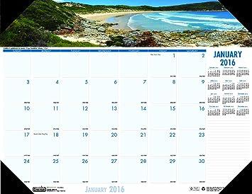 Desk Pad Calendar 2016