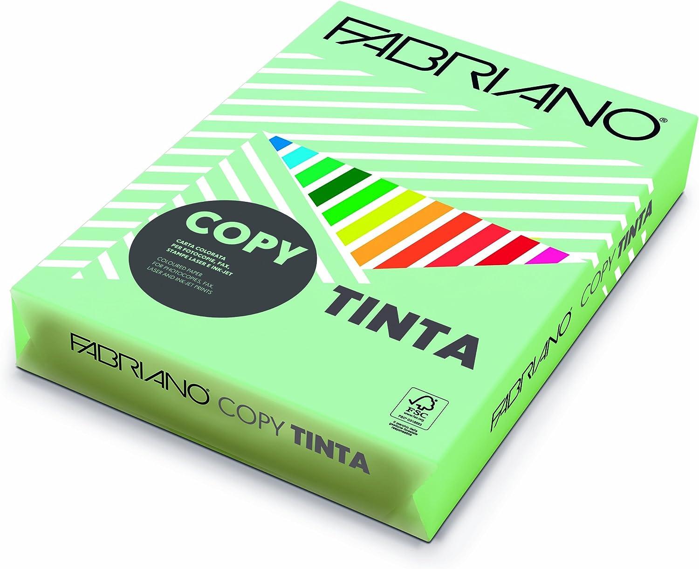 Confezione di 500 fogli di carta Fabriano F61121297 Copy Tinta 80gr A4