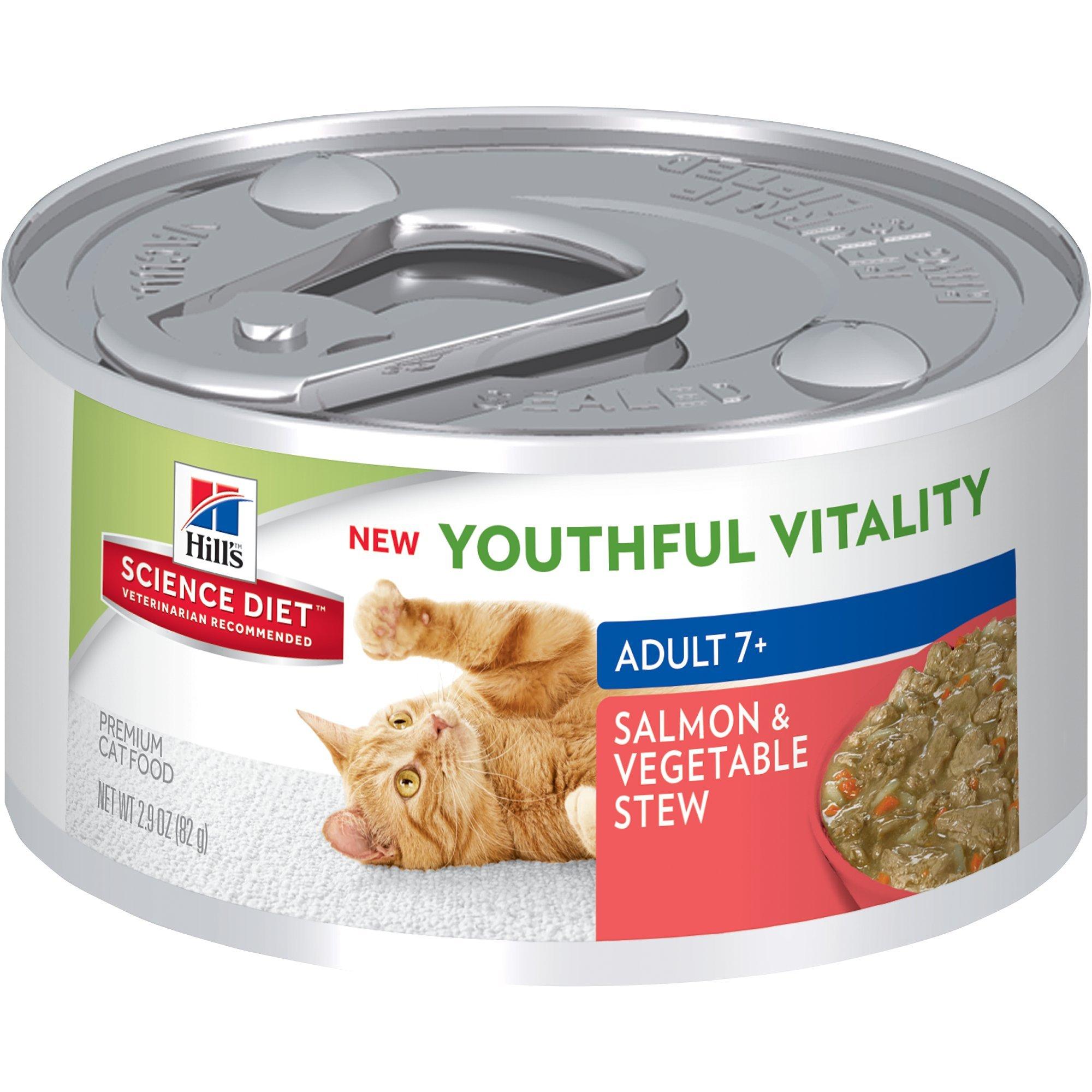 Hill's Science Diet Senior Wet Cat Food