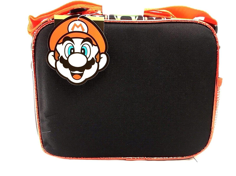 Super Mario 3D Bros Insulated Lunch Box Bag Licensed Nintendo Luigi New Authentic