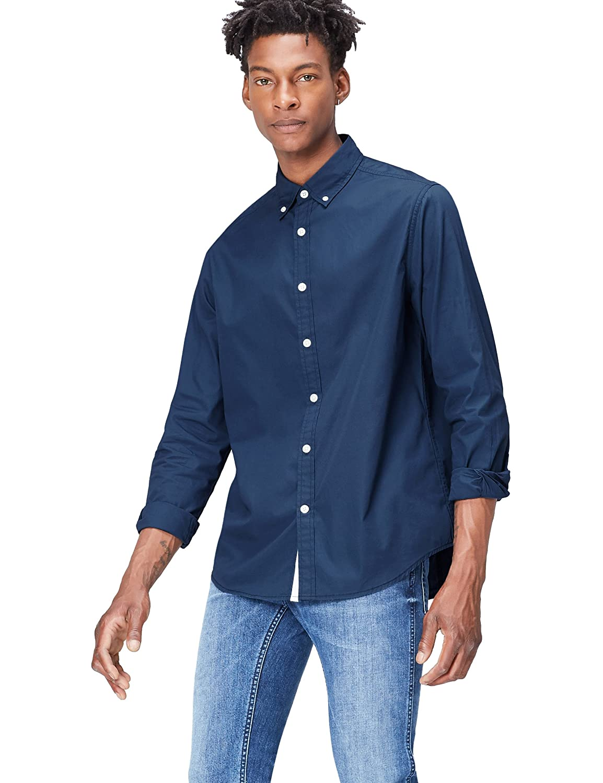 Camicia in Cotone Regular Fit Uomo find