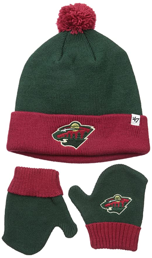 7bc4e8b1ae8 Amazon.com    47 NHL Minnesota Wild Toddler Bam Bam Knit Hat ...