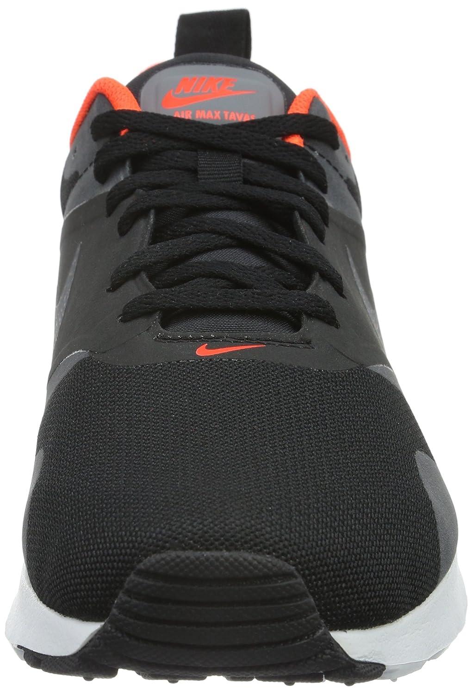 783e5e84bd9a Nike Men s Air Max Tavas Black Dark Grey Total Crimson White Running Shoe  11. 5 Men US  Buy Online at Low Prices in India - Amazon.in
