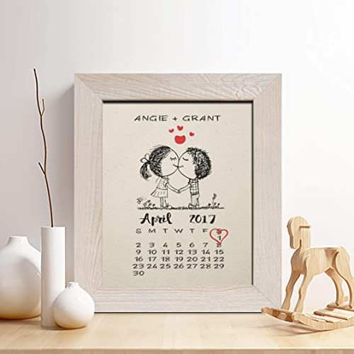 amazon com personalized 1st anniversary gift for him or her