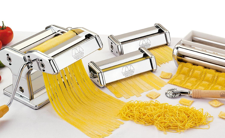 MARCATO MULTIPAST Atlas 150 set dough sheeter Pasta Maker Lasagne ...