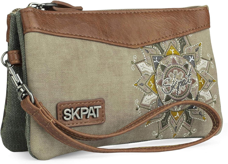 SKPAT Triple, Monedero Tiempo libre y sportwear Unisex Adulto, L