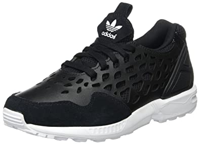 grossiste 89a1b 88228 Adidas ZX Flux Lace W, Chaussures Femme, Noir/Blanc, 36 EU ...