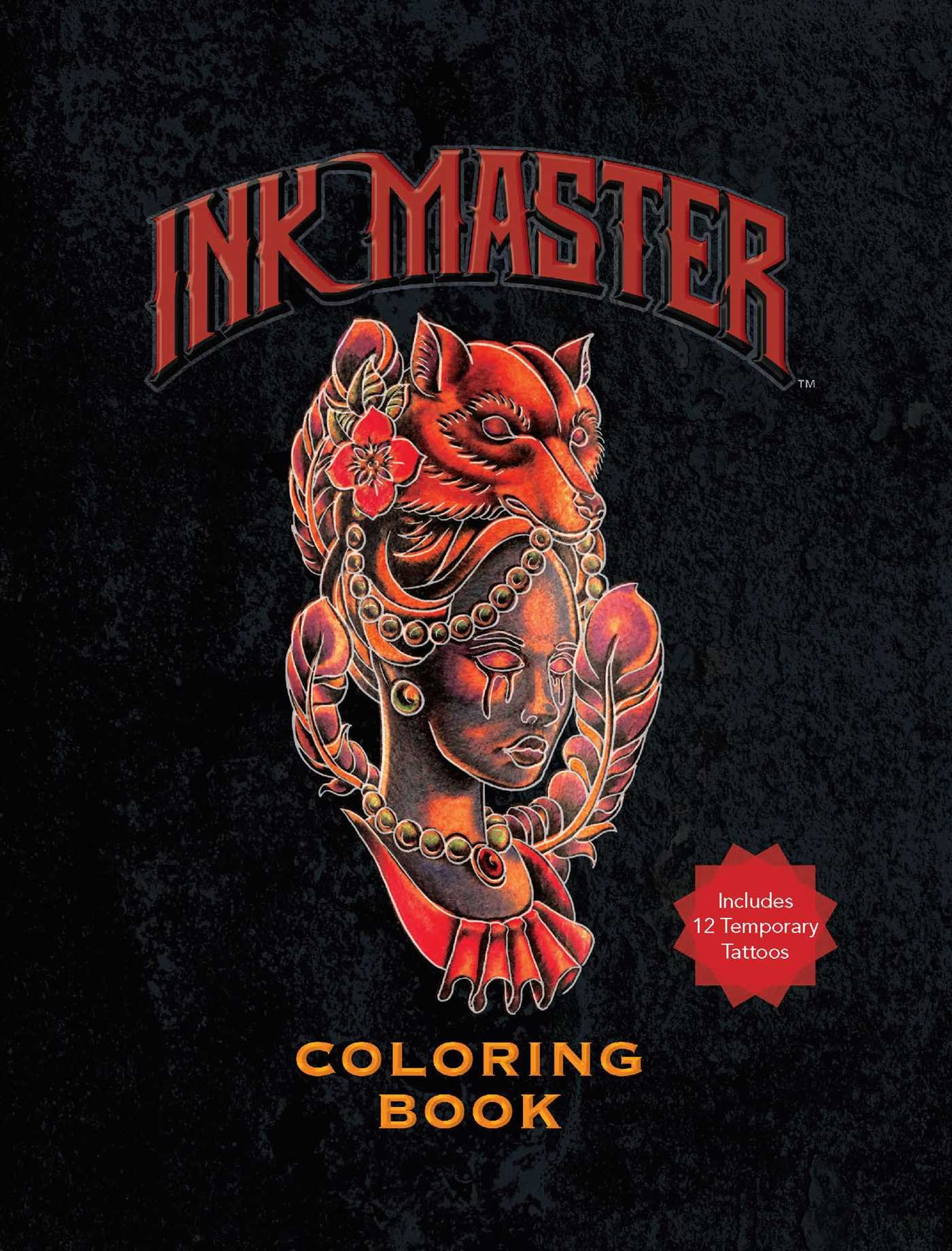 Amazoncom Ink Master Coloring Book 9781681881829 Ink