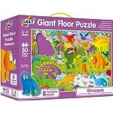 Galt A0866B Dinosaurs Giant Floor Puzzle, 30 Pieces Puzzle
