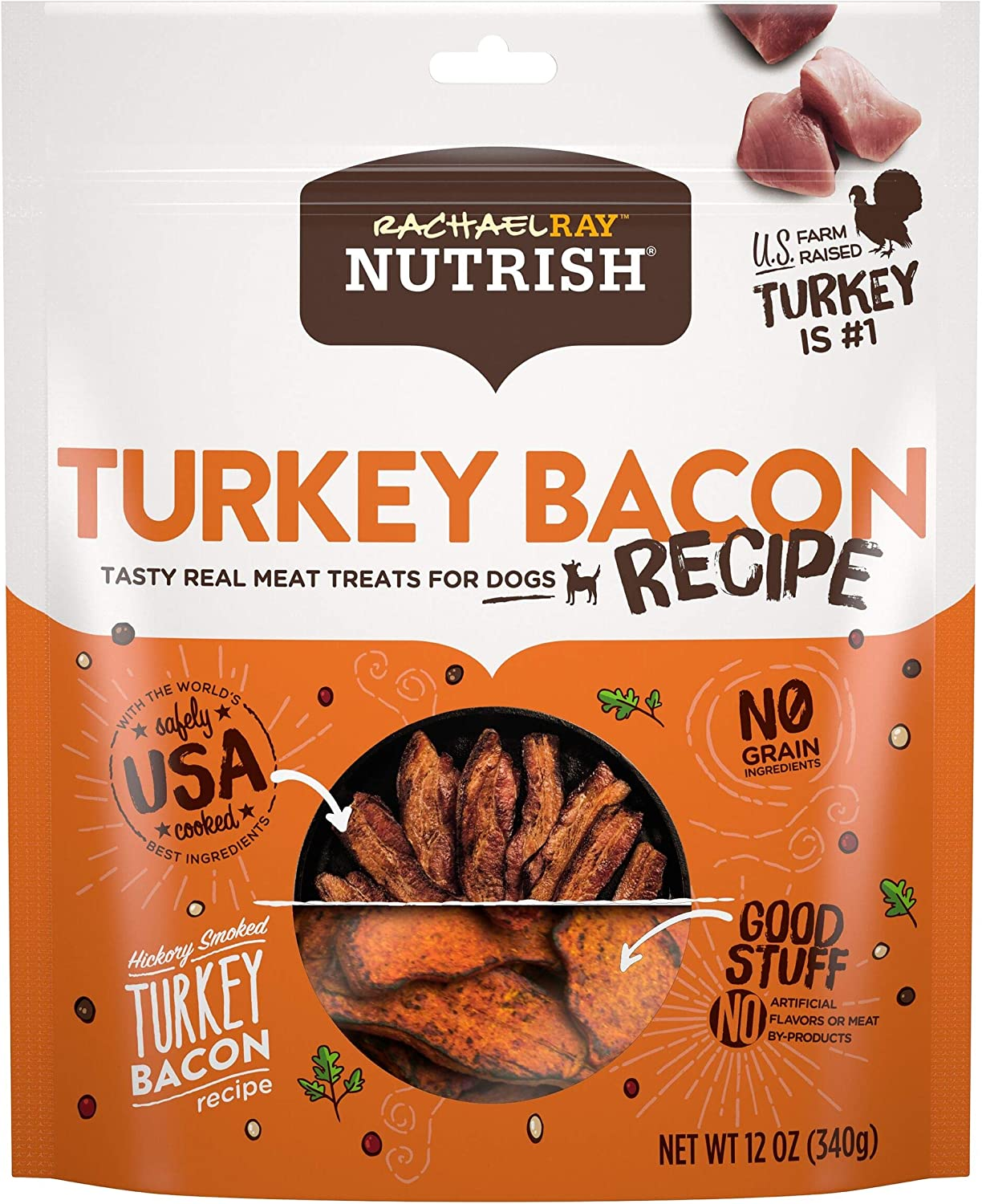 Rachael Ray Nutrish Real Meat Dog Treats