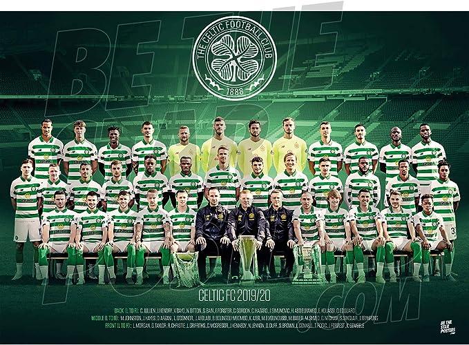 Disponible en tailles A3 et A1 Poster Celtic FC Crest A3 A3 Produit sous licence officielle