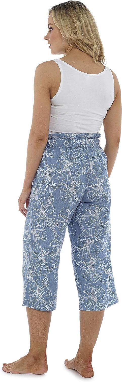 Mujer Citycomfort Pantalones De Lino Para El Verano Pantalones Cargo Con La Cintura Alta A La Moda Con Lazo Y Pliegues Longitud De 3 4 Pantalones Mujer De Traje De Fiesta Tallas Grandes