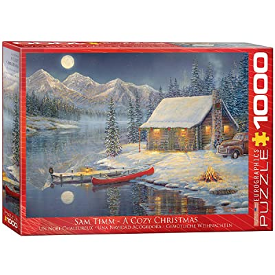 EuroGraphics Cozy Christmas Puzzle (1000 Piece): Toys & Games