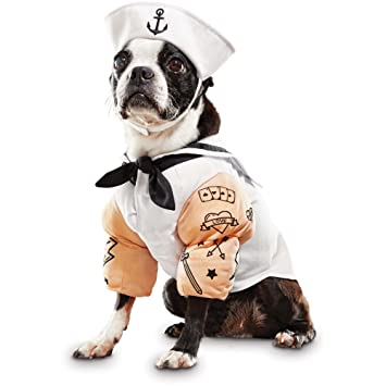 sc 1 st  Amazon.com & Amazon.com : Bootique Sailor Dog Costume Small : Pet Supplies