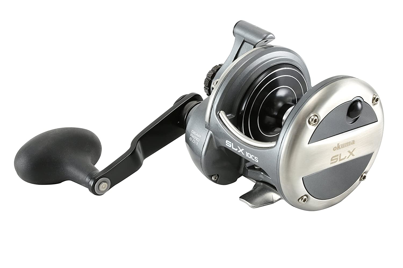 Okuma Fishing Tackle Solterra slx-15cs High Speed Open Topフレームレバードラッグリール   B01GUSWCVA