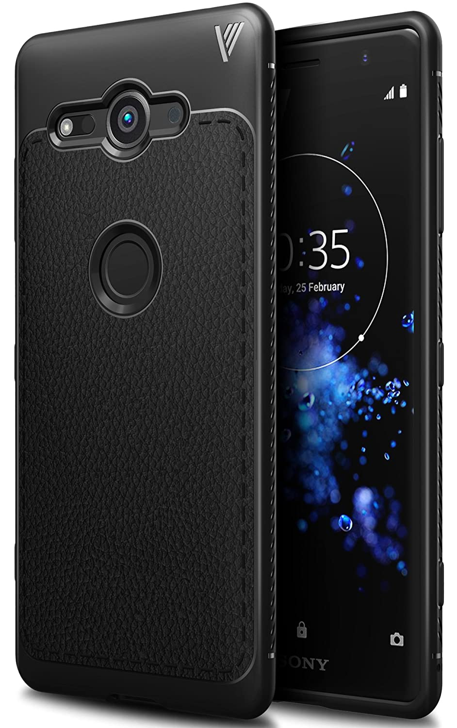 online store 91d46 658a2 Sony Xperia XZ2 Compact case, KuGi Sony Xperia XZ2 Compact case, SS  [Scratch Resistant] Premium Flexible Soft Anti Slip TPU Case for Sony  Xperia XZ2 ...